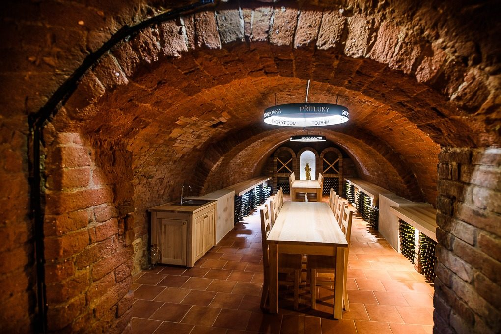 Vinný sklep - vinařství Bukovský Přítluky